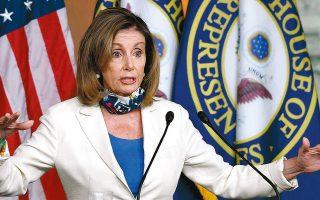 Δεδομένου ότι οι Ρεπουμπλικανοί θέλουν να περιορίσουν δραματικά το ύψος του πακέτου, η Δημοκρατική πρόεδρος της αμερικανικής Βουλής, Νάνσι Πελόσι, έχει αντικρούσει τα επιχειρήματά τους περί μεγάλου κόστους τονίζοντας ότι «διακυβεύεται η επιβίωση της οικονομίας μας».