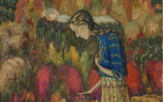 «Utopia revisited»: Ι. Κλιούν, «Πορτρέτο της συζύγου του καλλιτέχνη», 1910. (Φωτ. © MOMus-Μουσείο Μοντέρνας Τέχνης-Συλλογή Κωστάκη)
