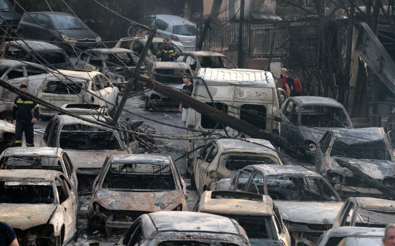 Β. Ματθαιόπουλος: Τι απαντά για την πυρκαγιά στο Μάτι