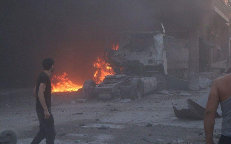 Συρία: Οκτώ νεκροί από έκρηξη βόμβας σε ελεγχόμενη από την Τουρκία περιοχή
