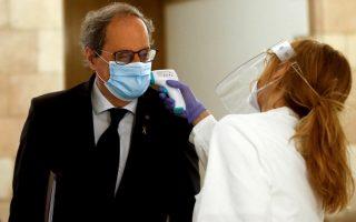 Ο πρόεδρος της καταλανικής κυβέρνησης Κιμ Τόρα (Φωτ.: ΕΡΑ)
