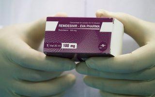 Παγκόσμια οργή προκάλεσε η αγορά 500.000 δόσεων Remdesivir, της μοναδικής εγκεκριμένης θεραπείας κατά της COVID-19, από τις ΗΠΑ (Φωτ. REUTERS).