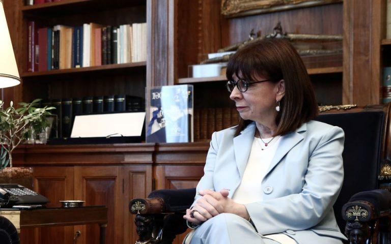 Κ. Σακελλαροπούλου: Θερμές ευχές προς τον αμερικανικό λαό για την 4η Ιουλίου
