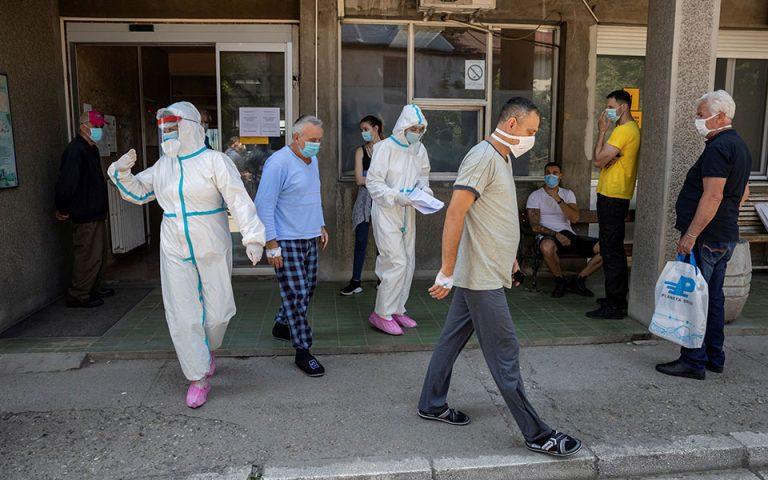 Σερβία: 11 θάνατοι και 309 νέα κρούσματα κορωνοϊού το τελευταίο 24ωρο
