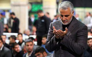 Φωτ. αρχείου: Ο Ιρανός υποστράτηγος Κασέμ Σουλεϊμανί, ο επικεφαλής της Δύναμης Κουντς («Ιερουσαλήμ») των Φρουρών της Επανάστασης