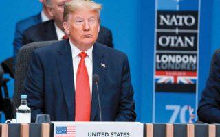 Ο Τραμπ δυναμίτισε για τα καλά τη διατλαντική συμμαχία, που για παραπάνω από 70 χρόνια υπήρξε πυλώνας της ευρωπαϊκής σταθερότητας. Φωτ. A.P.