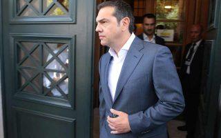 Το πρόβλημα που έχει να αντιμετωπίσει ο Αλέξης Τσίπρας είναι η γιγάντωση του αντι-ΣΥΡΙΖΑ μετώπου, στο οποίο θεωρούν ότι στοχεύει η Ν.Δ. Φωτ. ΑΠΕ-ΜΠΕ / ΠΑΝΤΕΛΗΣ ΣΑΪΤΑΣ