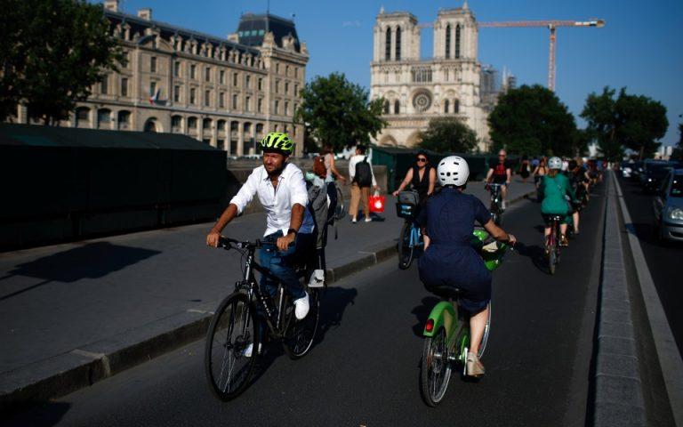 Μεγάλος Περίπατος (και αντιδράσεις) και στο Παρίσι