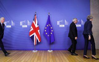 Σε ψυχρή ατμόσφαιρα πραγματοποιήθηκαν οι συναντήσεις της Τερέζα Μέι με τους ανώτερους αξιωματούχους της Ε.Ε., στις Βρυξέλλες. Οι δύο πλευρές συμφώνησαν να αναζητήσουν λύσεις της τελευταίας στιγμής, προς αποφυγήν ενός χαώδους Brexit.