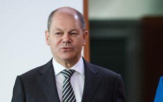 Ο Ολαφ Σολτς δήλωσε σε συνέ-ντευξη που έδωσε στους Financial Times πως «η γερμανική οικονομία θα συνεχίσει να βαδίζει μπροστά».