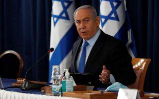 Ο υπ. Εξωτερικών Νίκος Δένδιας θα συναντήσει στο Ισραήλ τον πρωθυπουργό Μπέντζαμιν Νετανιάχου (φωτ.).