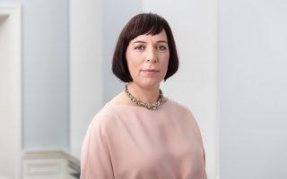 Η υπουργός Ερευνας και Εκπαίδευσης της Εσθονίας Mailis Reps.