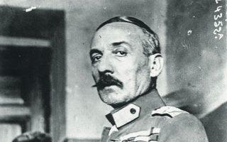 Ο Θεόδωρος Πάγκαλος το 1925.