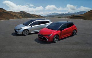 Oι εκδόσεις Touring Sports και χάτσμπακ της νέας Τoyota Corolla, η οποία, σε κάθε τύπο αμαξώματος, προσφέρει και διαφορετική σχεδιαστική πινελιά.