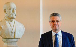 Ο επικεφαλής του γερμανικού Ινστιτούτου, Lothar Wieler/Tobias Schwarz/Pool via REUTERS
