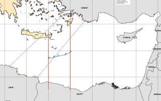 Ανεπίσημος χάρτης, σύμφωνα με διπλωματικές πηγές