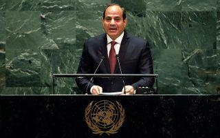 Η Τουρκία του Ερντογάν ζωντανεύει τους χειρότερους εφιάλτες του προέδρου Σίσι και του αιγυπτιακού βαθέος κράτους (φωτ. A.P.).