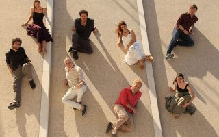 Η μουσική κολεκτίβα Encardia στη Μυτιλήνη.