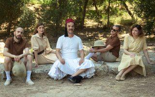 Η παράσταση «Αθηναίων Πολιτεία» στο Αρχαίο Θέατρο Θορικού.