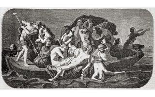 Ψυχές στη βάρκα του Χάροντα. Εργο που ο Γάλλος Φεϊέν-Περέν φιλοτέχνησε το 1857 και δημοσιεύθηκε στο L' Illustration Journal Universel. Φωτ. SHUTTERSTOCK