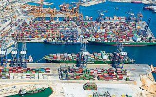 Οι ελληνικές εξαγωγές έχουν περιθώρια για σημαντική αύξηση. Είναι ένα στοίχημα για την Ελλάδα, αλλά και προϋπόθεση για την ανάπτυξη της οικονομίας. Η επιδίωξη δεν είναι εύκολη. (Φωτ. AΠΕ)