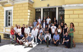 Για τέσσερις ημέρες, 33 συμμετέχοντες από Ελλάδα και εξωτερικό παρακολούθησαν επτά καθηγητές σε οκτώ διαλέξεις.