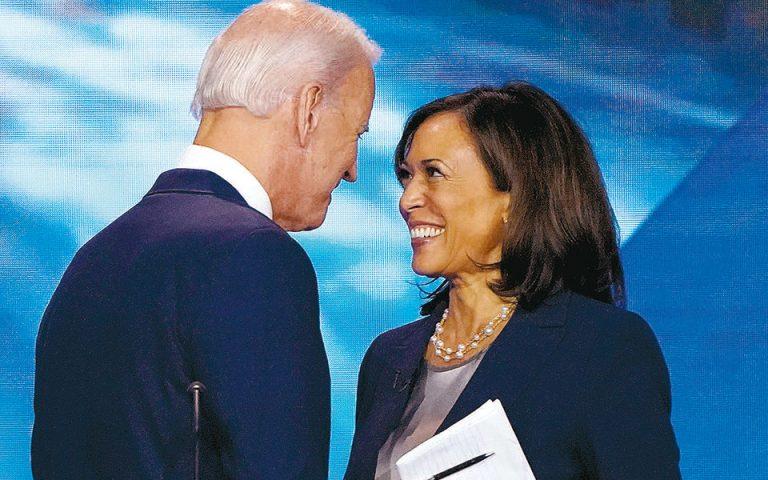 Τζο Μπάιντεν – Κάμαλα Χάρις: Σε ρότα για τον Λευκό Οίκο