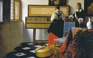 Ο πίνακας «Μάθημα μουσικής» του Γιοχάνες Βερμέερ.