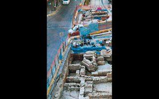 Ευρύ δίκτυο δεξαμενών ύδρευσης αποκάλυψαν οι ανασκαφές.