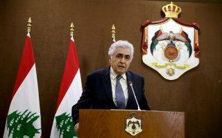 Ο παραιτηθείς υπουργός Εξωτερικών του Λιβάνου, Νασίφ Χίτι. (Φωτ.: Reuters)