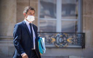 Ο υπουργός Εσωτερικών της Γαλλίας Ζεράλ Νταρμανέν έκανε λόγο για απέλαση των Βόσνιων. (Φωτ. ΕΡΑ)