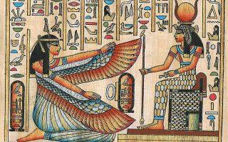 Οι Αιγύπτιοι αντιστοιχούσαν τη μορφή των άστρων του δικού μας Ωρίωνα με τον θεό τους Οσιρι, ενώ δίπλα του τοποθετούσαν και την πιστή του σύζυγο, Ισιδα, που αντιπροσωπευόταν από τον Σείριο.