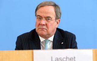 Ο πρωθυπουργός της Βόρειας Ρηνανίας-Βεστφαλίας Αρμιν Λάσετ (Φωτ.: ΕΡΑ)
