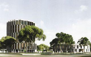 Το Μουσείο Ολοκαυτώματος θα αναπτυχθεί σε έκταση 13 στρεμμάτων.
