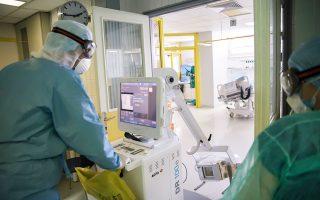 Εως χθες στις ΜΕΘ νοσηλεύονταν διασωληνωμένοι 14 ασθενείς με κορωνοϊό (φωτ. INTIME NEWS).