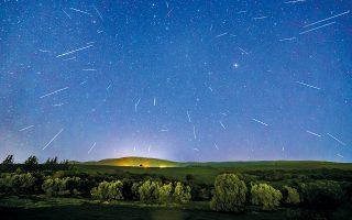 Η βροχή των αστεριών του Αυγούστου, γνωστή ως Περσείδες, είναι ορατή με γυμνό μάτι.