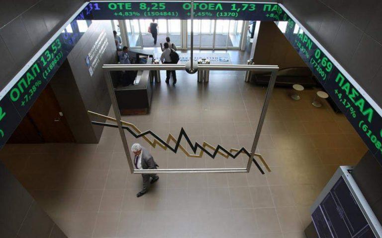 Χ.Α.: Ανοδος 2,18% με οδηγό τις τράπεζες
