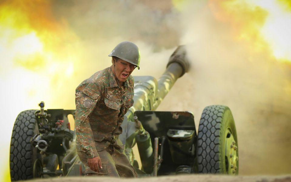 Φωτ. Associated Press - Armenian Defense Ministry Press Service