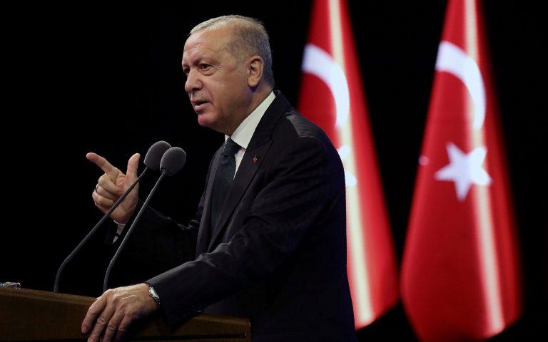 Ερντογάν για Μεσόγειο: Δεν είμαστε μουσαφίρηδες, αλλά ιδιοκτήτες