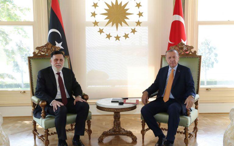 Στήριξη Ερντογάν σε Σάρατζ – Τι είπαν για την Ανατολική Μεσόγειο