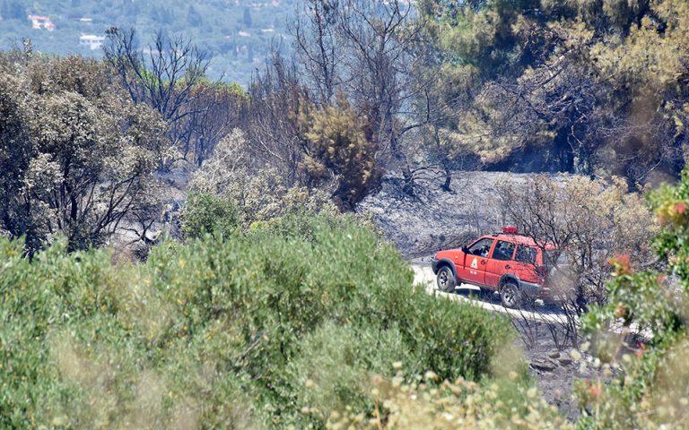 Πυρκαγιές σε Νεμέα, Ρόδο και Φαιστό