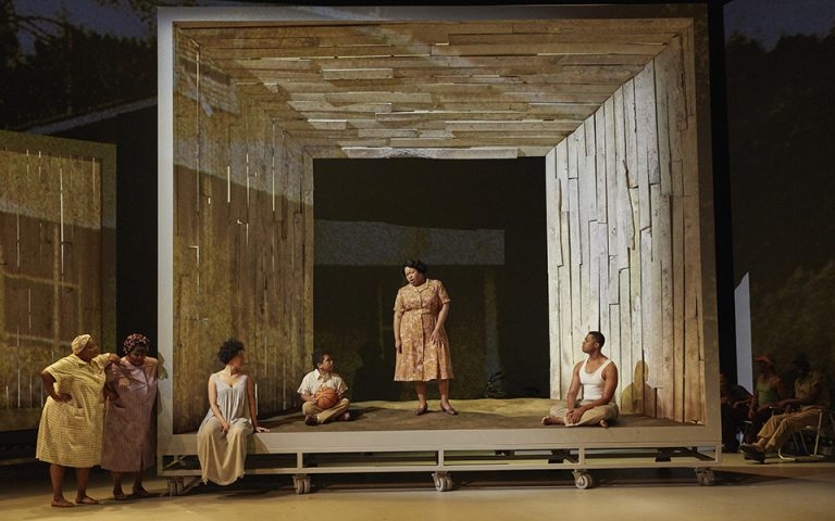 This image provided by the Metropolitan Opera shows a scene from Terence Blanchard's