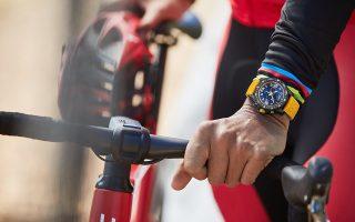 Ο Chris McCormack, μέλος της Breitling Triathlon Squad με το new Endurance Pro