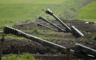 Αρμενικός οπλισμός στο Ναγκόρνο Καραμπάχ REUTERS/Staff/File Photo