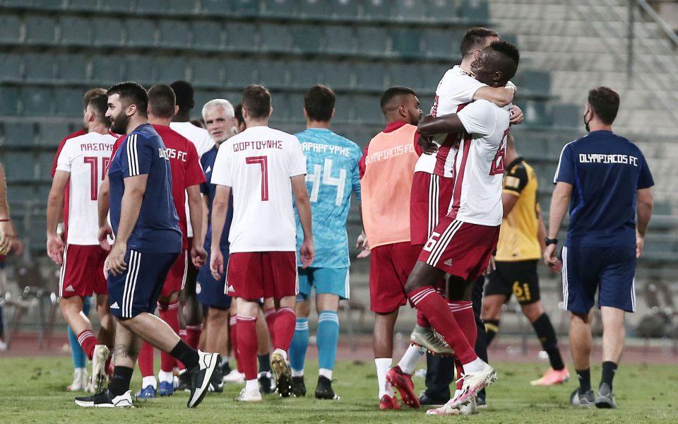 Κυπελλούχος Ελλάδος ο Ολυμπιακός: Επικράτησε 1 – 0 επί της ΑΕΚ