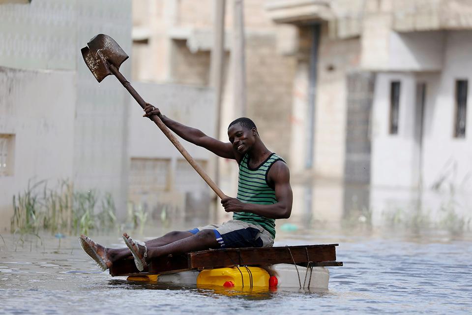 Ο γονδολιέρης της Σενεγάλης