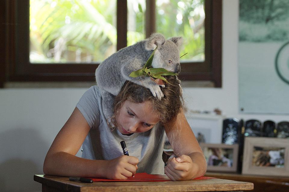 Το παιδί και το κοάλα
