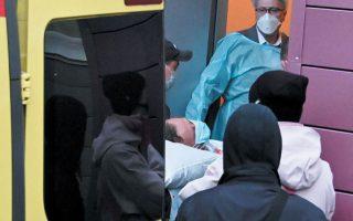 Ο Ρώσος ηγέτης της αντιπολίτευσης Αλεξέι Ναβάλνι έχει μεταφερθεί εδώ και δύο εβδομάδες από τη Ρωσία σε νοσοκομείο του Βερολίνου, όπου νοσηλεύεται σε κρίσιμη κατάσταση. (Φωτ. REUTERS / Alexey Malgavko)