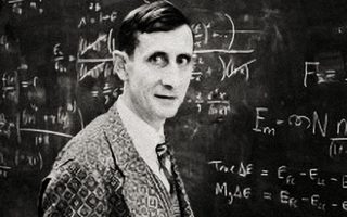Ο Φρίµαν Ντάισον (1923-2020) σε αίθουσα διδασκαλίας τη δεκαετία του '50 στην Αµερική.