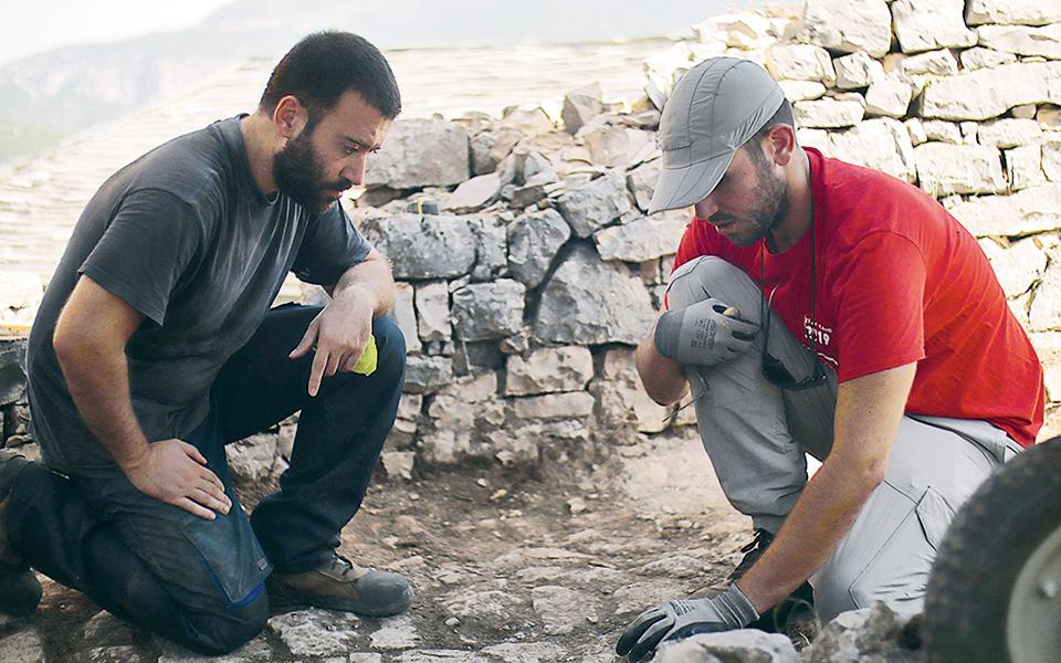 Από αριστερά, Αρης Σκλαβούνος και Φαίδων Μουδόπουλος.